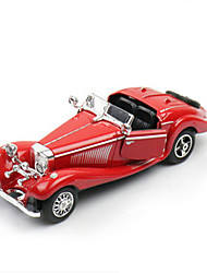 Classic Car Toys Car Toys 1:28 Metal Plastic Red Model & Building Toy