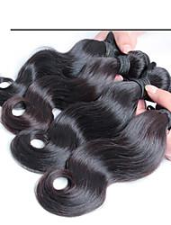 4 шт / много 100% малазийский девственной волос, бесплатная доставка новых прибытия Малайзии теле волна