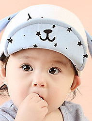 Kid's Cute Cotton Dog Bule/Gray/Red/Fuchsia Hat From 6 to 24 Months