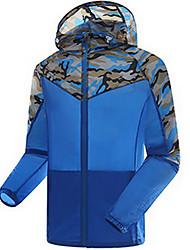 Верхняя часть Рыбалка унисекс Легкие материалы Защита от солнечных лучей Весна Лето Осень Белый Синий M L XL