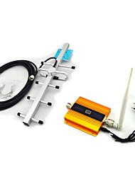 cellulaire GSM900 lcd or téléphone mobile amplificateur de puissance du signal + 10m antenne extérieure