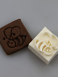Bee Shape DIY Handmade Soap Chapter Seals Tool Design