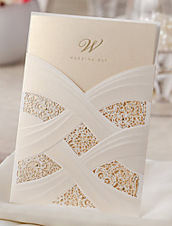 10 Pieces Wedding Invitations Cards CW060