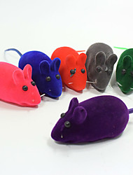 Cat Toy Dog Toy Pet Toys Ball Chew Toy Interactive Squeaking Toy Mouse Toy Squeak / Squeaking Durable Elastic Halloween Mouse CartoonRed