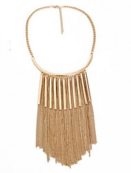 Women's Statement Necklaces Jewelry Jewelry Alloy Tassel Tassels Fashion Personalized Euramerican European Jewelry ForParty Special