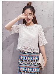 знак 2017 лета новые женщины тяжелые кружева топ + юбка цвета бахромой тонкий пакет хип моды