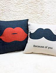 1 pcs Cotton/Linen Pillow Case Body Pillow Travel Pillow Sofa Cushion Novelty Pillow Pillow Cover,Nature Graphic PrintsAccent/Decorative