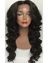 Glueless Virgin Hair Lace Front Human Hair Wigs Wave for Black Woman Body Wave Wig With Baby Hair