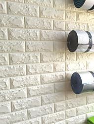 Décoration artistique 3D Fond d'écran pour la maison Contemporain Revêtement , Autre Matériel adhésif requis fond d'écran , Couvre Mur