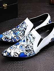 Westland's Men's Loafers & Slip-Ons/Fashion/Cowhide/Poker Pattern/Club Dress /New Arrival