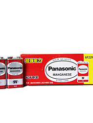 zinco-carbono 9v Panasonic 6f22nd bateria 10 pack