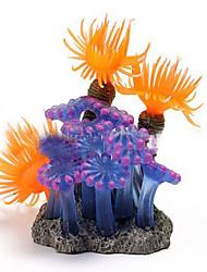 Aquário Decoração Coral Atóxico & Sem Sabor Silicone
