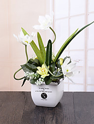 1 Branch Orchids Tabletop Flower Artificial Flowers