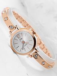 Women's Fashion Watch Digital Watch Quartz Digital Alloy Band Casual Silver Gold