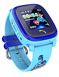 IPS LBS Waterproof Smart Watch Children GPS Swim  SOS Call  Tracker Kids Safe Anti-Lost Monitor