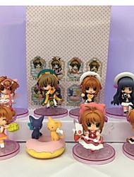 Anime Action-Figuren Inspiriert von Cardcaptor Sakura Sakura Kinomodo PVC 7 CM Modell Spielzeug Puppe Spielzeug