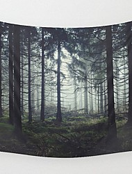 Wall Decor Fabric Polyester Modern Printing Tapestry Wall Art 1 Pc