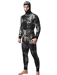 MYLEDI Men's 5mm Wetsuits Full Wetsuit Waterproof Thermal / Warm Wearable YKK Zipper Nylon Neoprene Diving Suit Diving Suits-Swimming