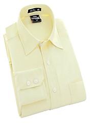 U&Shark New Hot! Men's Yellow Twill Denim Long Sleeve Shirt/CXW009