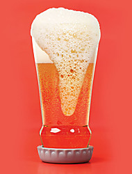 Transparent Drinkware, 130 ml Decoration Glass Beer Glass