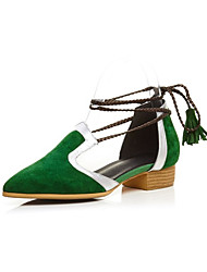 Sandals Spring Summer Club Shoes Leather Party & Evening Casual Low Heel