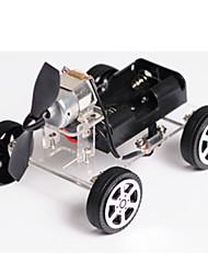 Spielzeuge Für Jungs Entdeckung Spielzeug Solar betriebene Spielsachen Auto Metall Plastik Schwarz