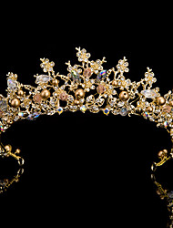 Alloy Headpiece-Wedding Special Occasion Tiaras 1 Piece