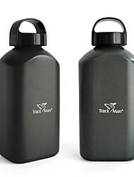 Minimalismo Artigos para Bebida, 1000 ml Portátil Anti-Vazamento Alumínio chá Café Garrafas de Água