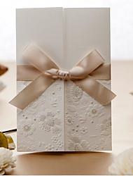 Non personnalisés Pli Parallèle Vertical Invitations de mariage Autocollant d'enveloppe Cartes d'invitation Faire-Parts de Fiançailles-50