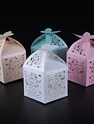 50pcs/lots butterfly and flower wedding candy box party favors paper box wedding decoration party supplies