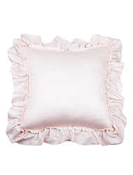 Turqua PRINCESS ANNA European Pillowcase 100% Cotton Decorative Border Frill Baby Pink Princess Cushion Cover Free Shipping