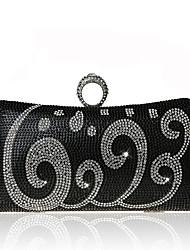 L.WEST Women light diamond banquet bag exquisite hand bag elegant temperament evening bags
