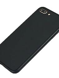 Для Ультратонкий Кейс для Чехол Кейс для Один цвет Мягкий Силикон для Apple iPhone 7 Plus iPhone 7 iPhone 6s Plus/6 Plus iPhone 6s/6