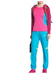 Femme Bas Sport de détente Séchage rapide Printemps Eté Automne Jaune BleuM L XL
