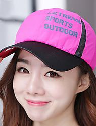 Unisex Ladies Baseball Cap Fashion Casual Outdoor Quick Dry Offset English Print Net Cap