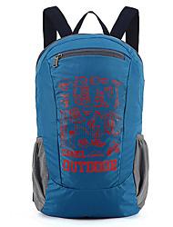 18 L Rucksack Camping & Wandern Reisen Draußen Training Eingebaute Kesseltasche tragbar Atmungsaktiv Schwarz Blau Nylon CAMEL