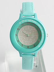 Модные часы / Кварцевый PU Группа Повседневная Синий