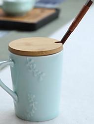 Minimalismo Artigos para Bebida, 237 ml Dom namorado presente namorada Cerâmica Água Canecas de Café