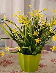 1 Ast Kunststoff Künstliche Blumen 33