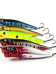 5 pcs Popper Popper Random Colors 0.013 g Ounce mm inch,Carbon steel General Fishing