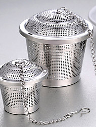 1PC Stainless Steel Filter Bag Tea Flavored Soup Taste Tea Ball