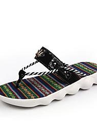 Men's Slippers & Flip-Flops Spring Summer Fall Comfort Light Soles Customized Materials Outdoor Casual Flat Heel Walking Shoes