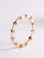 Ring Daily Casual Jewelry Alloy Ring 1pcOne Size