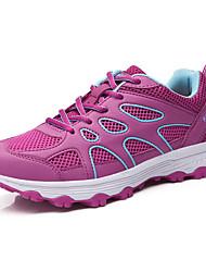 Черный Серый Лиловый Пурпурный-Для женщин-Для прогулок Повседневный Для занятий спортом-Полиуретан-На плоской подошвеСпортивная обувь