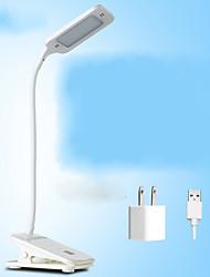 LED Rechargeable Desk Lamp Student Learning Eye Bedroom Bedroom Bedside Desk Creative Clip Small Desk Lamp