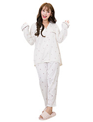 Women Bamboo Carbon Fiber Pajama
