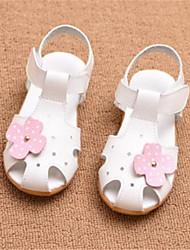 sandales confort similicuir décontracté en plein air de course blanc rose rouge