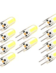 10PCS G6.35 1505 Cob AC DC 12 v 3W 650 lm Double Needle Waterproof Glue Dimmer Lamp