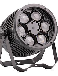 u'king® 80w 10w * 6 RGBW 4 em um led cree efeito fase nominal de luz 06/05 / 8 / 13CH multi-modalidades 1pcs estroboscópicas de voz DMX