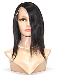 Indian Virgin Hair Lace Wigs Kinky Straight Full Lace Wigs For Women